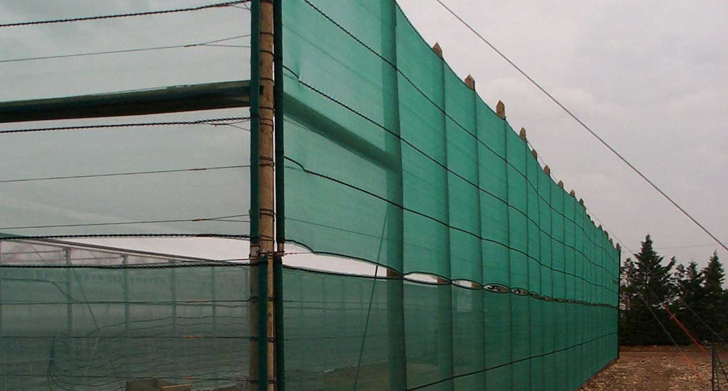 Greenhouse Wind Breaking Nets Amp Structures Quick Ship